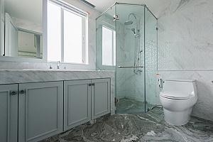 remodeled bathroom in fairfax virginia