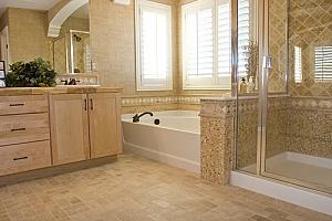 remodeled bathroom in northern virginia