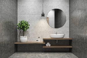 Elegant half bathroom interior remodeling ideas
