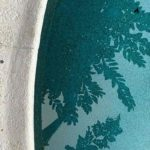 Close up view of pool. There are things to consider before removing an inground pool