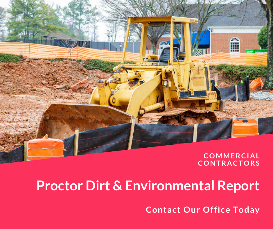 proctor dirt for compactable material