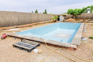 Under Construction Swimming Pool