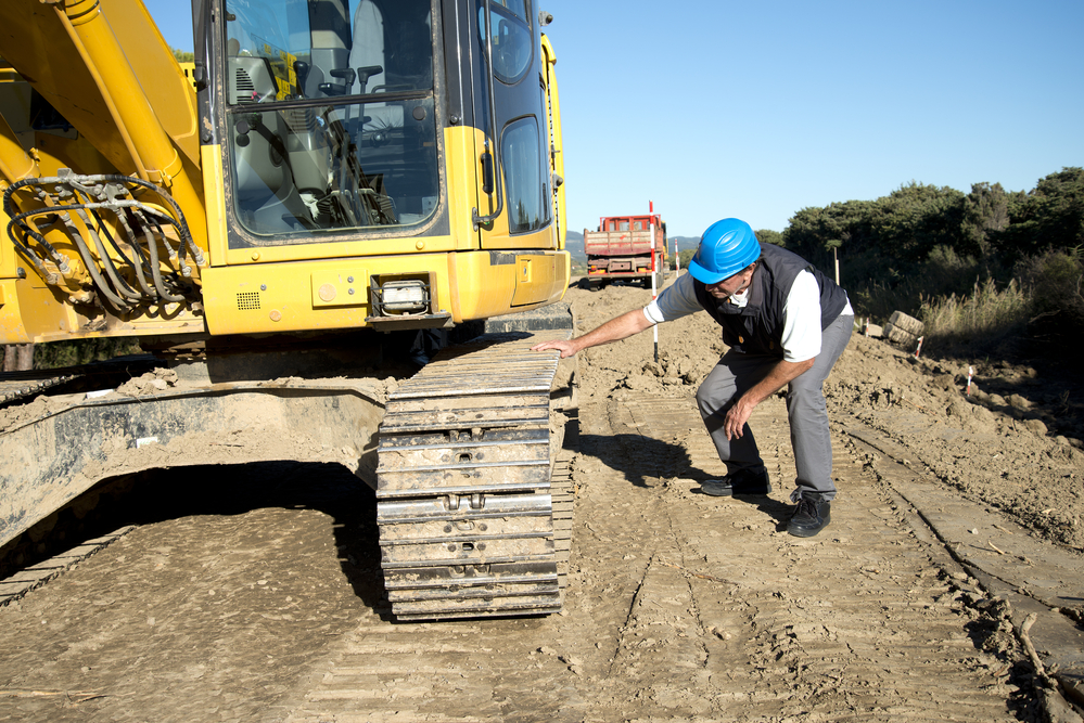 Inspect and familiarize yourself with your construction equipment