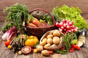 garden foods for dinner