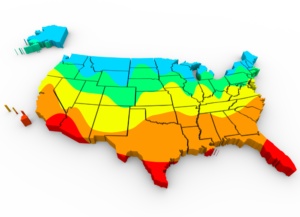 growing zones for the USA